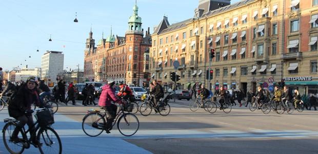 Le Danemark, champion d'Europe du vélo urbain !