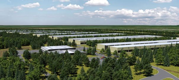 Data centers écologiques d'Apple au Danemark et en Irlande en 2017