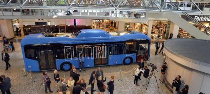Volvo lance un bus 100% électrique en Suède