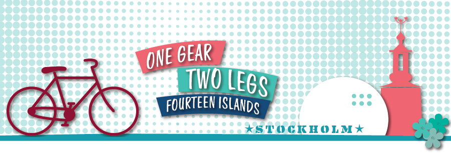 One gear, two legs & fourteen islands