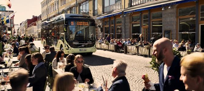 Volvo lance ses bus 100% propres en Suède