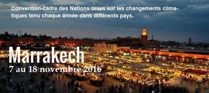 La COP 21 n'est pas morte, Vive la COP 22 ! Et direction le Maroc !!