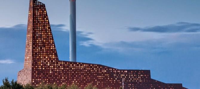 Danemark: Déchets lumineux pour «Tour d'Energie» !