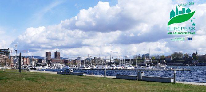 Norvège: Oslo, capitale verte européenne 2019