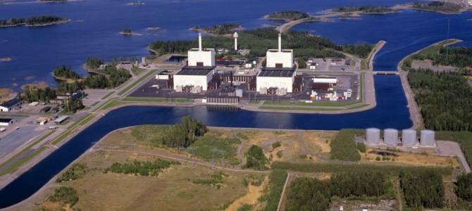 Notre drone «JPP» a survolé Forsmark, l'une des 3 centrales nucléaires de Suède !