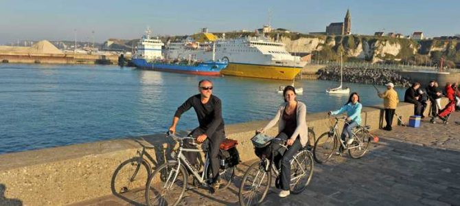 Spécial #Normandie « A plus ou moins 100 et en roue libre! » : l'Avenue verte Paris-Londres