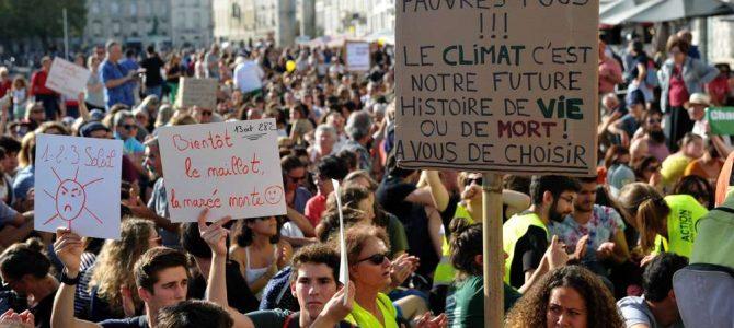 Des jeunes femmes pour la justice climatique mondiale !