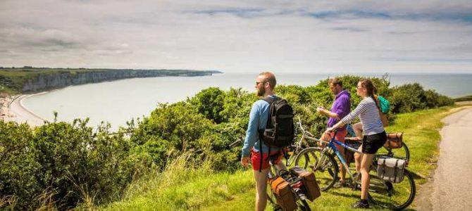 Spécial #Normandie « A plus ou moins 100 et en roue libre! » : la Vélomaritime, 1500 kms de pistes cyclables au bord de la mer!