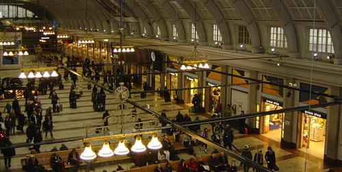 Hall de la gare de Stockholm
