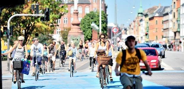 Copenhague, capitale «verte» européenne, obsédée par le vélo !