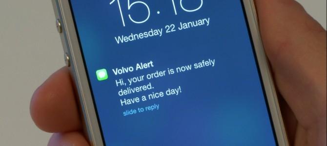 Suède: Livraison mobile… ça roule !